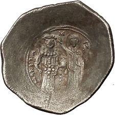 Manuel I Comnenus 1143AD Ancient Byzantine Coin Jesus Christ Virgin i54030