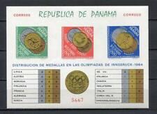 24590) Panama 1964 MNH New Olympic G.Innsbruck S/S