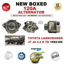 für Toyota Landcruiser J7 J8 4.2 D TD ab 1992 Neu 120A Lichtmaschine