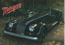 Morgan 4/4 1600 (2-y 4 plazas) y Plus 8 Original 1986 fábrica Reino Unido Folleto de ventas