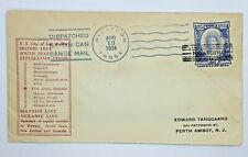 1934 NIUAFO'OU TONGA COVER DISPATCHED BY TIN CAN CANOE MAIL