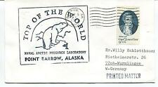 1980 Point Barrow Naval Arctic Research Laboratory  Polar Antarctic Cover