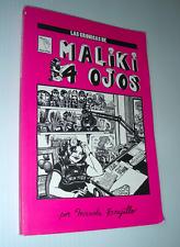 CRONICAS de MALIKI 4 OJOS spanish underground comic feminism Marcella Trujillo