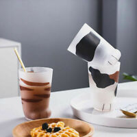 Creative Cute Cat Paws Glass Tiger Mug Office Coffee Mug Tumbler Milk Cup JF