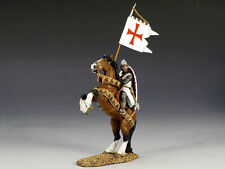 King and (&) Country MK066 - Mounted Templar w/ Banner - Retired