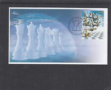 Israel 2015 Chess First Day Cover FDC Tel Aviv pictorial h/s