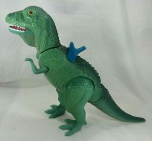 Vintage DEFINITELY DINOSAURS T-Rex Tyrannosaurus Rex w/ Sadle Playskool 1987