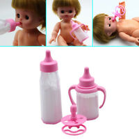 Baby Doll Feeding Bottle-Magic Milk Dummy Pacifiers Set Fashion Selling