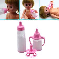 Reborn Baby Doll Feeding Bottle-Magic Milk Dummy Pacifiers Set Fashion Selling