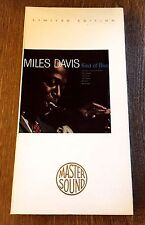 Miles David Kind of Blue Rare 24 Kt Gold Audiophile CD Sealed Nice!
