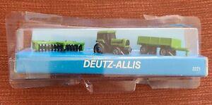 Vintage Ertl Micro-Size Deutz-Allis Farm Machines Tractor Open Box Model: 2221