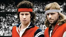 BJORN BORG AND JOHN MCENROE TENNIS GREAT Poster - Choose a Size! B