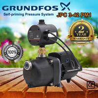 Grundfos Basicline JPC3-42 PM1 Self-priming Rain Water Pressure Pump 98388472