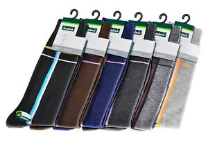 Semlouis 6 in 1 Men's Quarter Crew Socks - Horizontal & Vertical lines