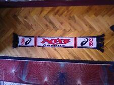 AGF Aarhus Football scarf schal  fodbold tørklæde Asiks official vintage 90's