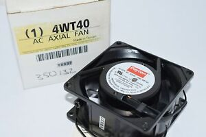 NEW DAYTON 4WT40 Standard Square Axial Fan, Square, 115V AC, 1 Phase, 30 cfm