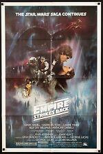 EMPIRE STRIKES BACK 1980 Style A 1sh Exc. condition ESB Star Wars filmartgallery