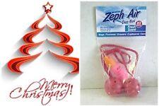 2 Car Air Freshener Balls,10ml bottle refill oiI, Xmas Spice fragrance, Hangers