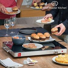 Bandeja Calientaplatos chef Master Kitchen serie S 400w