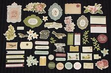 2018 Kaisercraft Die Cuts Collectables 20 Designs Scrapbooking Card CT872