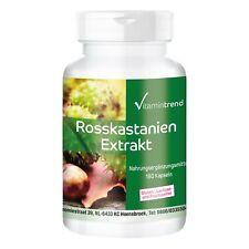 Rosskastanien Extrakt 300mg - vegan - 180 Kapseln | Vitamintrend