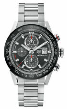 TAG Heuer Chronograph Stainless Steel Strap Wristwatches