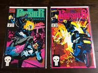 The Punisher War Journal #29/30 vs Ghost Rider Marvel Comics 1989 Flesh/Bones VF