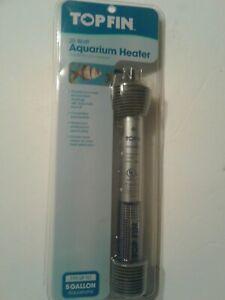 New Topfin 25 Watt Submersible Aquarium Heater For 5 Gallon Tanks