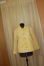 Marc Jacobs Cotton Yellow Jacket Size 8