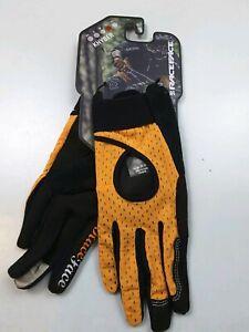 Race Face Women's Khyber Biking Gloves Orange Size L