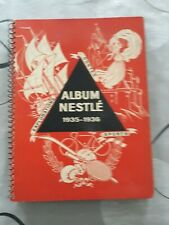 Album Nestlé 1935-1936,sports,explorateurs,contes ,complet.