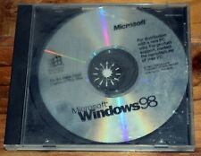 Microsoft Windows 98 PC Operating System CD