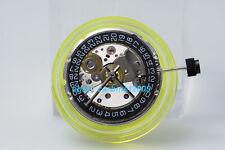 SEAGULL ST2130 H3 Black Date Automatic Movement Perlage ETA 2824-2 replacement