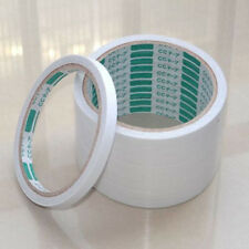 5 Rolls of Double Sided 8mm Super Strong Adhesive Tape White Office Supplies
