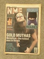NME Music Magazine - 27 July 1991- Metallica Morrissey at Wembley Adverts Gigs