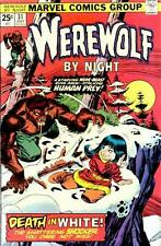 Marvel Comics WEREWOLF BY NIGHT Issue 31 - Death In White!