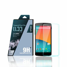 Tempered Glass Clear Mobile Phone Screen Protectors for LG