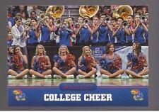 2016 Panini Kansas #5 College Cheer Fight Song KU Jayhawks Rare Sports Card