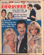 1983 National Enquirer Jul 12 Burt Reynolds Loni Anderson Linda Evans Tony Danza
