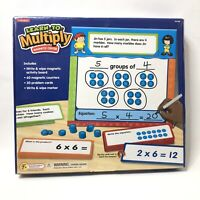 Lakeshore Learn To Multiply Magnetic Center Homeschool Ages 7 and Up