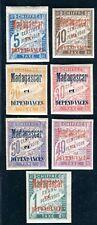 MADAGASKAR PORTO 1896 Yvert TT 1-7 * SATZ 280€(D7630