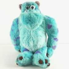 """Disney Store Exclusive Sully Plush 16"""" Monsters Inc Blue Monster Stuffed Animal"""