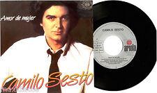 """7"""" - Camilo Sesto - Amor De Mujer (SINGLE DE VINILO ORIG. EDIT. 1983) COMO NUEVO"""