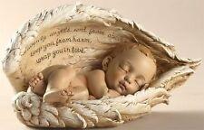 Sleeping Baby in Angel Wings Figurine New from Roman, Inc.  SKU 42175