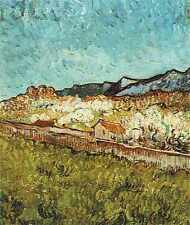 At The Foot Of The Mountains 1889 A4 Print