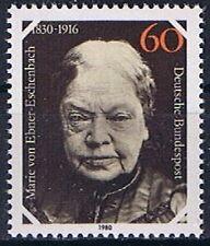 Bund MiNR 1057 150. Geburtstag von Maria Freifrau von Ebner- ..... postfrisch **