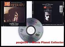 NOSFERATU Kinski Adjani (BOF/OST) Popol Vuh (CD) 1992