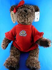 "BLOOM BROTHERS 17"" Shaggy Brown Plush Teddy Bear Jointed limbs ALASKA MW TAGS"
