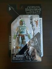 "STAR WARS THE BLACK SERIES 6"" ARCHIVE SERIES 1 BOBA FETT FIGURE! MOC!"