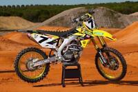Yoshimura Suzuki AMA graphics kit RM 85 2002 - 2020 James Stewart Motocross